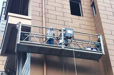 ګرم شوي شوی / ایلومینیم رسی تعلیق شوي پلیټ 415v 50hz دوه1.8 کیلو ګرامه موټر