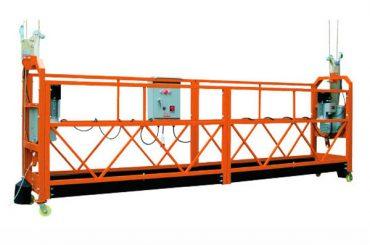 2.5M x 3 برخې 1000kg معیوب شوي الس رسی پلی کولو لیږد سرعت 8-10 متره / min