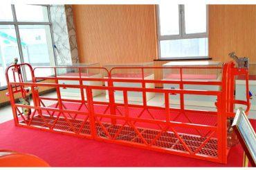 فولاد د الس رسۍ پلی کولو 7،5m 1.8kw 800kg د ودانۍ ساتنه تعلیق کړي